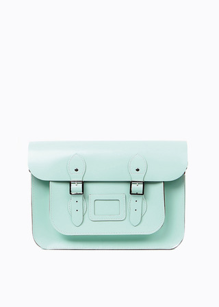 "LEATHER SATCHEL 15"" (MINT) B#LS1501"