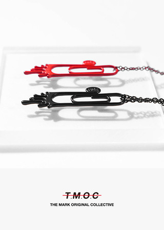 TMOC/TiTAN CLIP NECKLACE A#MK18012
