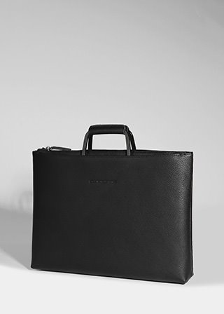 ESCA BRIEF CASE [BLACK] B#E101