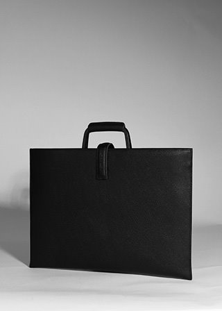 ROSA BRIEF CASE [BLACK] B#E100