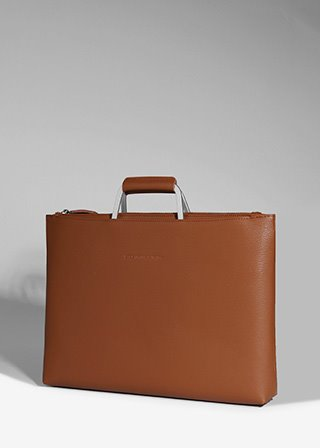 ESCA BRIEF CASE [BROWN] B#E101
