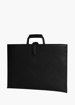 [EXCLAMATION MARK] No.B#E100ROSA BRIEF CASE [BLACK]