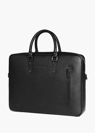 [EXCLAMATION MARK] No.B#E103MALLEE BRIEF CASE [BLACK]